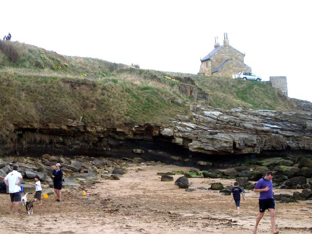 The Bathing House at Howick Haven