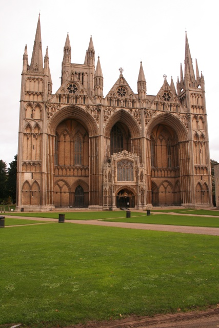 The West Front, Peterborough Cathedral