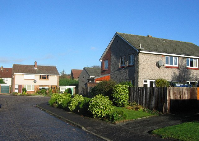 Residential area, Crossford