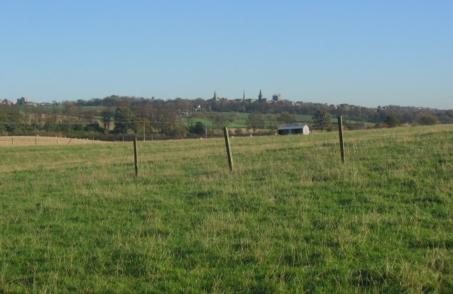 Dunfermline from Crossford.