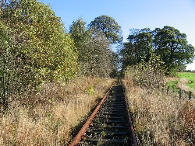 Disused railway, Sillieton