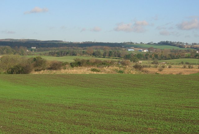 Farmland near Crombie.