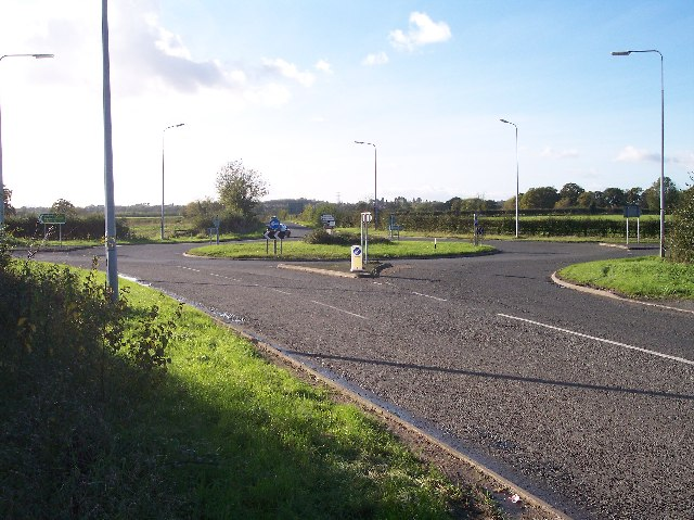 Pershore Lane Roundabout