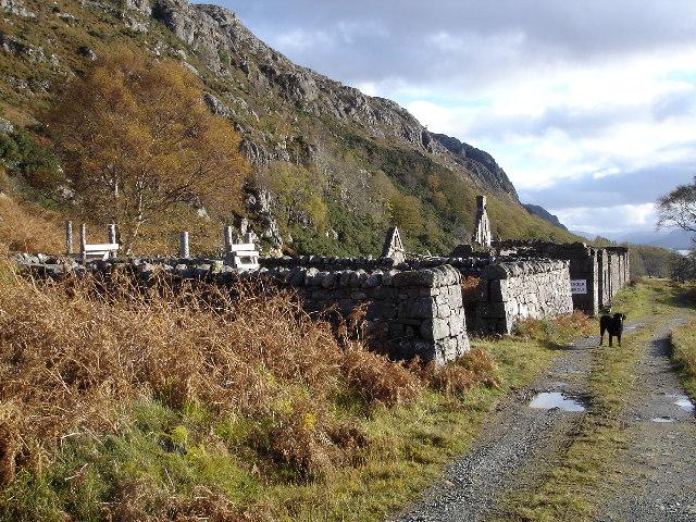 Ruins at Ardlair