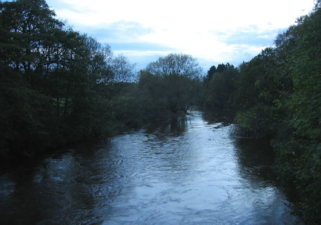 The River Wear from Shincliffe Bridge looking south
