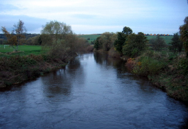 River Wear from Shincliffe Bridge looking north