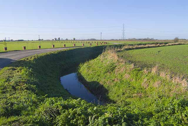 Drainage ditch off Moor Gate