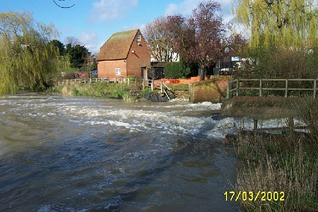 Cobham Mill and the River Mole