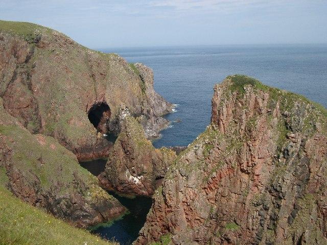 Cliffs near Cape Wrath