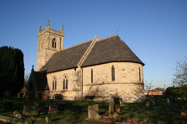 St.Nicholas' church, Snitterby, Lincs.