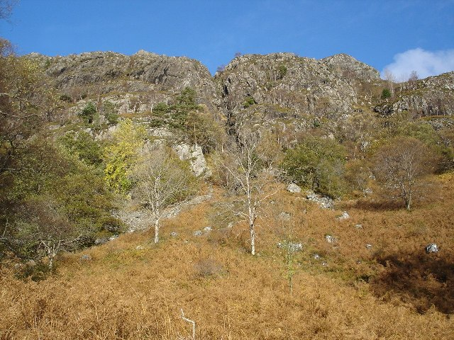 Cliffs at Ardlair