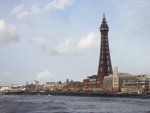 View of Blackpool Tower