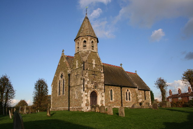 St.John the Baptist's church, High Toynton, Lincs.