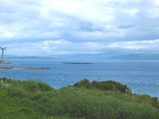 East Tarbert Bay, Isle of Gigha.