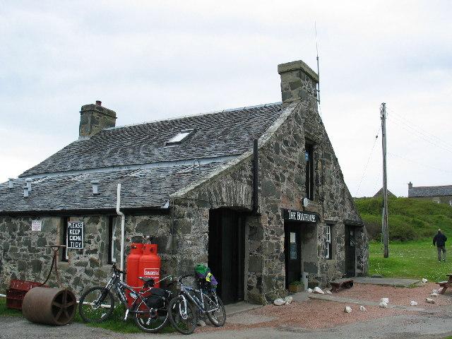 The Boathouse, Isle of Gigha.