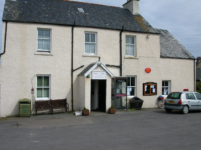 Village stores and Post Office, Gigha.