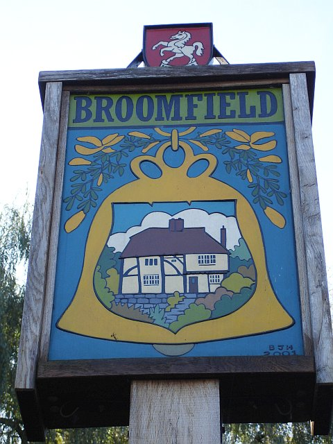 Broomfield village sign