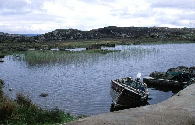 Loch an Duin, Scalpay.