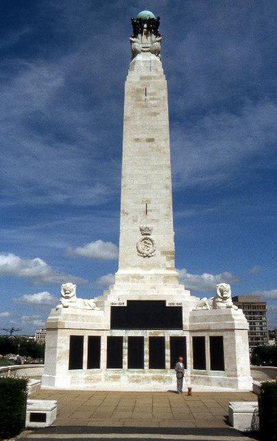 War memorial, Plymouth Hoe