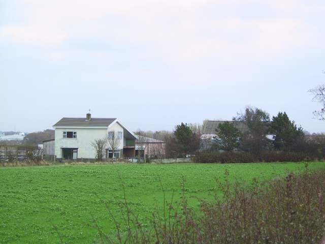 Farm Buildings near Wrea Green