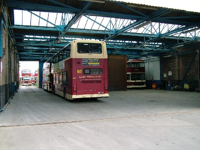 Withernsea East Yorkshire Bus Depot