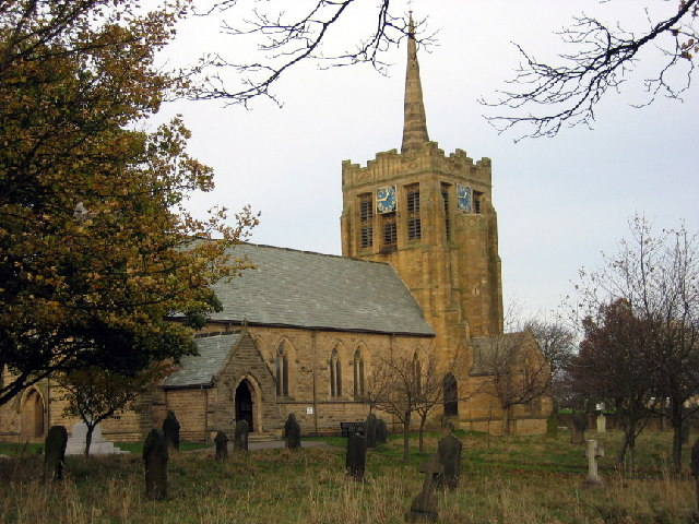 St.Andrew's Church, Stanley,Co.Durham