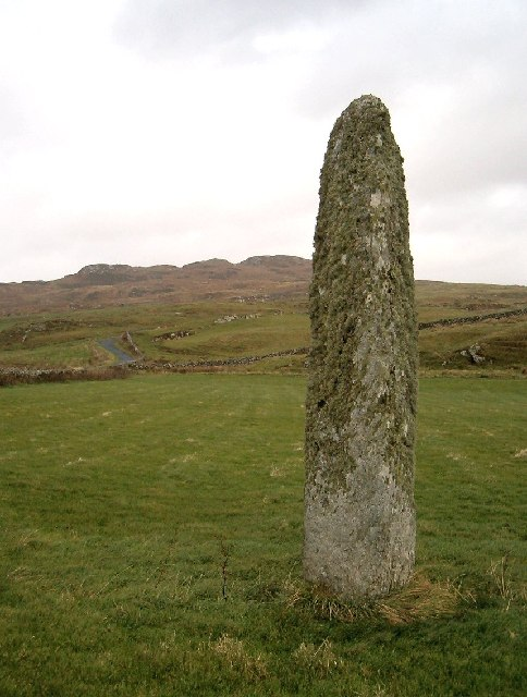 Standing Stone near Port Ellen, Isle of Islay
