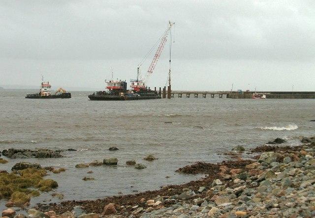 Improvements to Bruichladdich Pier