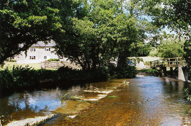Axminster: ford at Higher Westwater