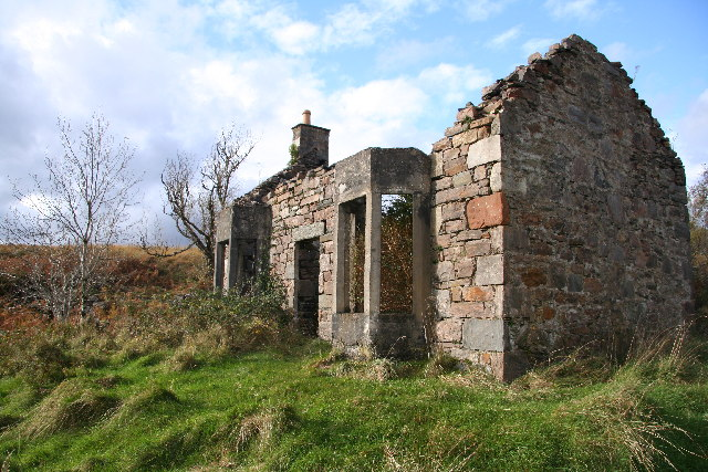 Ruined croft/cottage