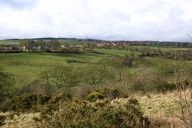 New Brancepeth, seen from the Deerness Valley Walk
