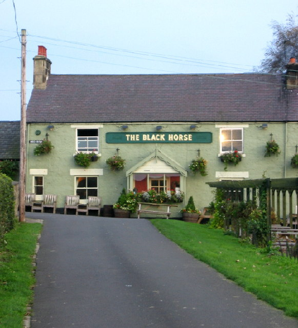 The Black Horse, Beamish Red Row