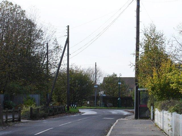 Junction in Kingswood