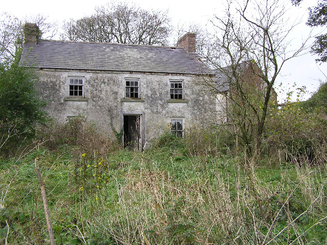 Old farmhouse at Camowen C Kenneth Allen Geograph Ireland