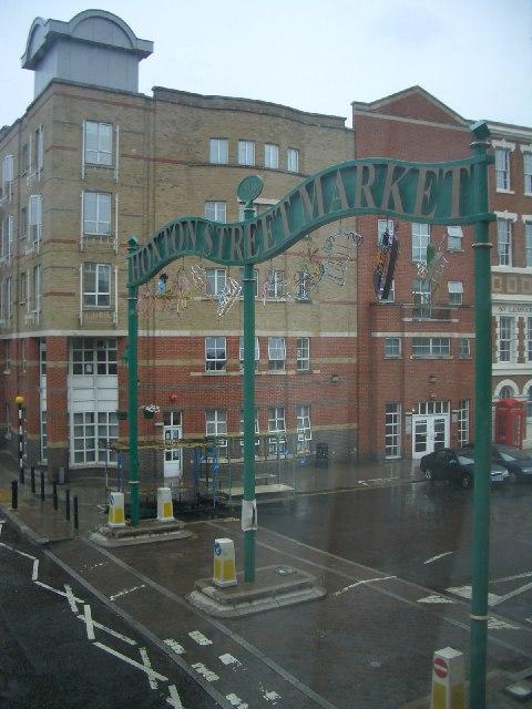 Hoxton Street Market Sign