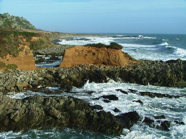 Coastal Erosion, Copstone Cove