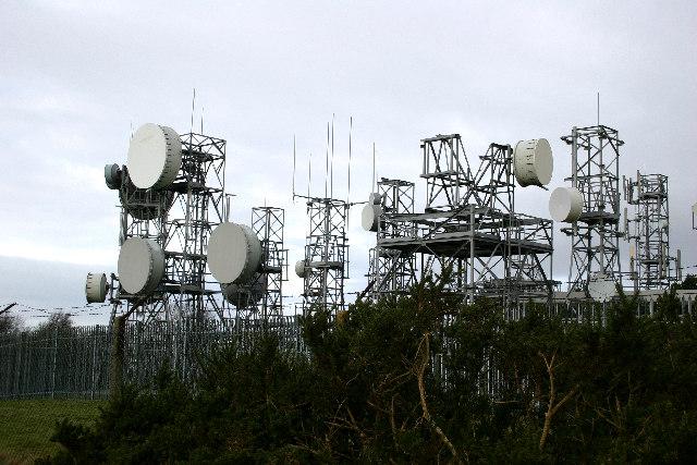 Communication Masts near Osmotherley