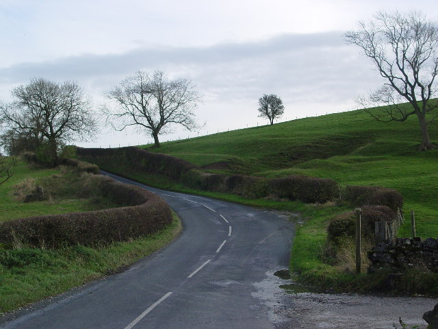 The road from Gargrave to Broughton