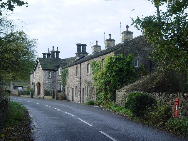 Houses near Broughton