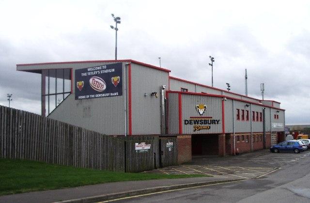 The Tetley's Stadium - Home of Dewsbury Rams