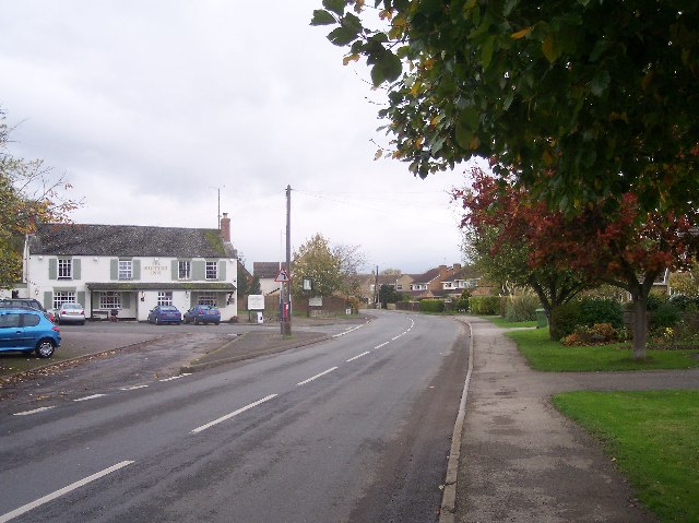 West End of Gotherington Village