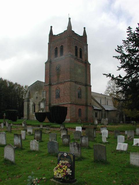 Crondall, Hampshire, The church of All Saints