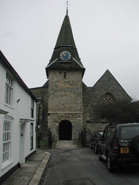 Titchfield, Hampshire, St Peter's Parish church