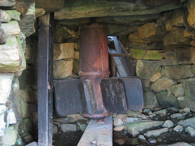Norse mill wheel