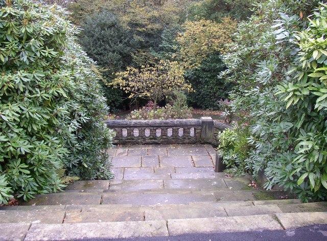 Steps in Beaumont Park, Lockwood