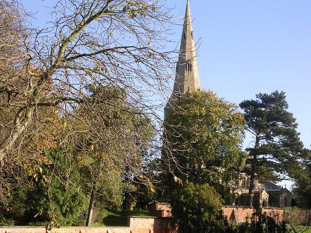 Keyston church