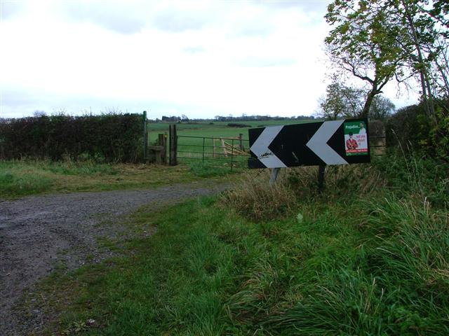 Public Footpath at Maltby Grange