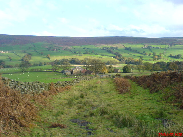 Looking out over Bransdale