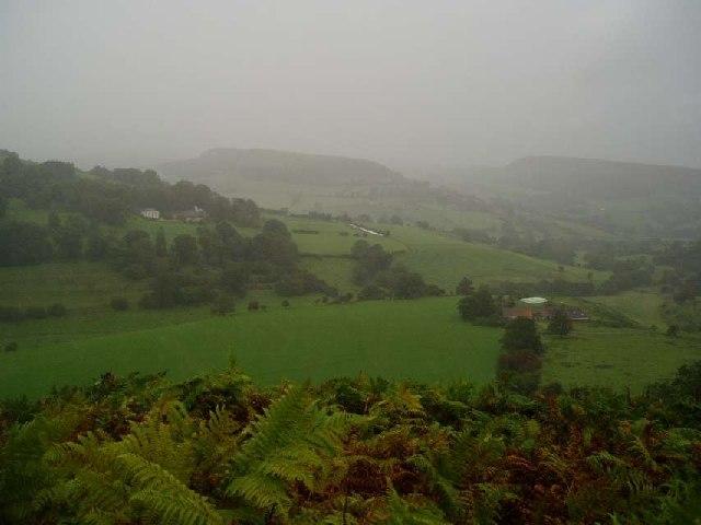 Rainstorm near Murton Grange