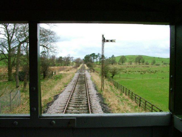 Eden Valley Railway West of Warcop